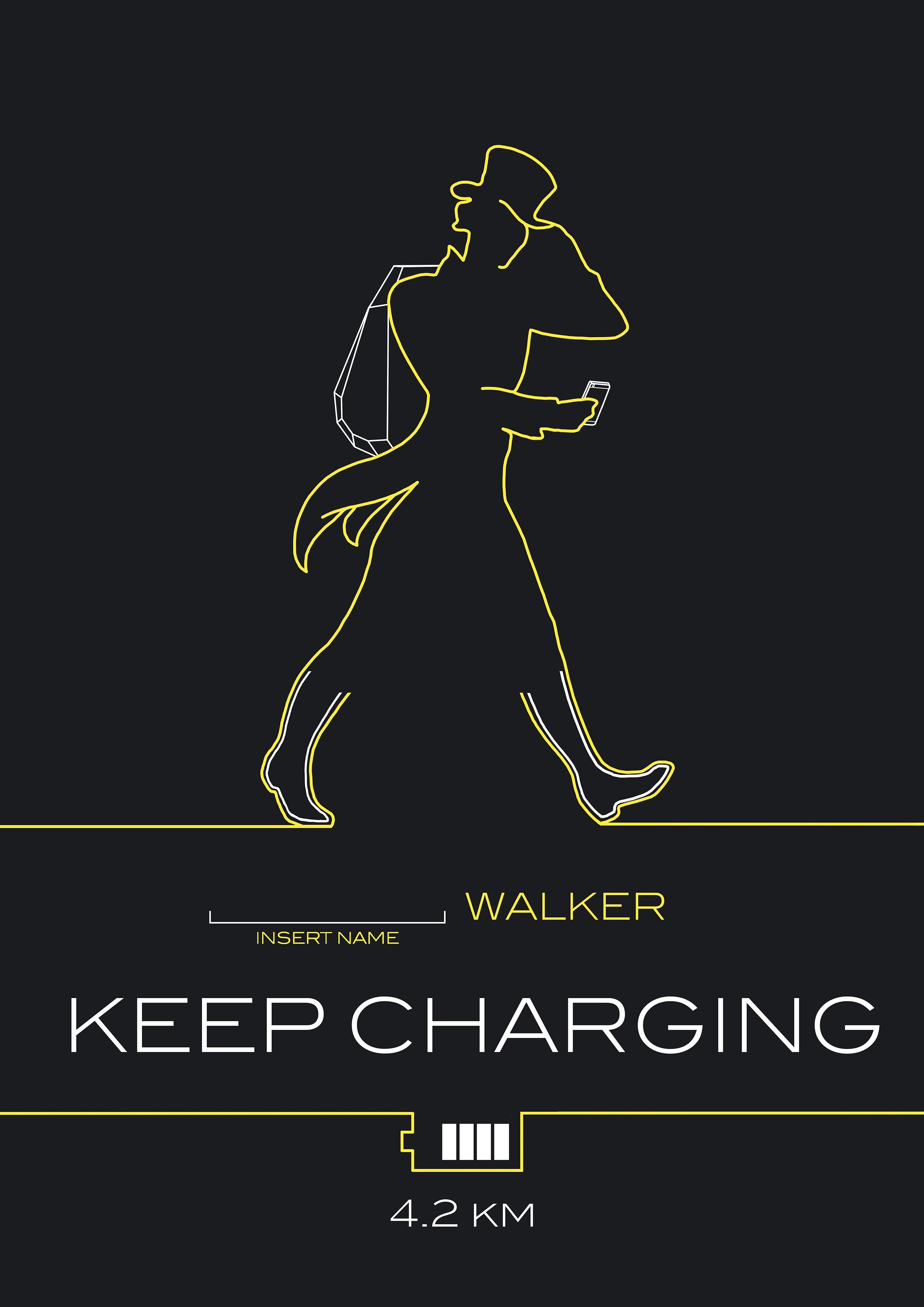 KEEP CHARGING