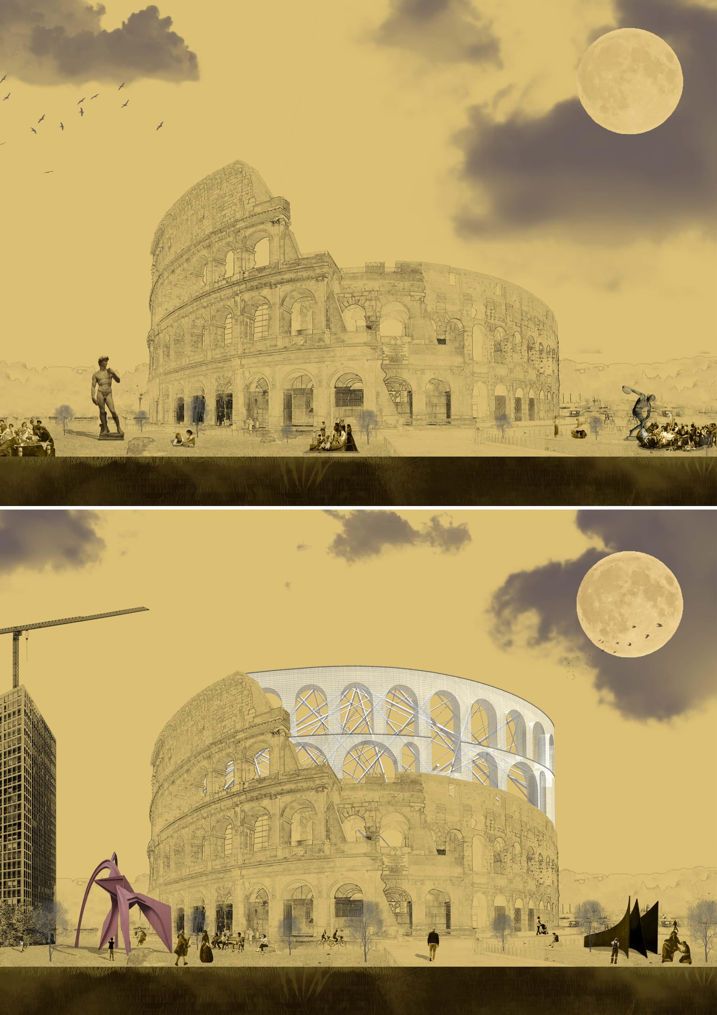 Colosseum, Waiting for Godot