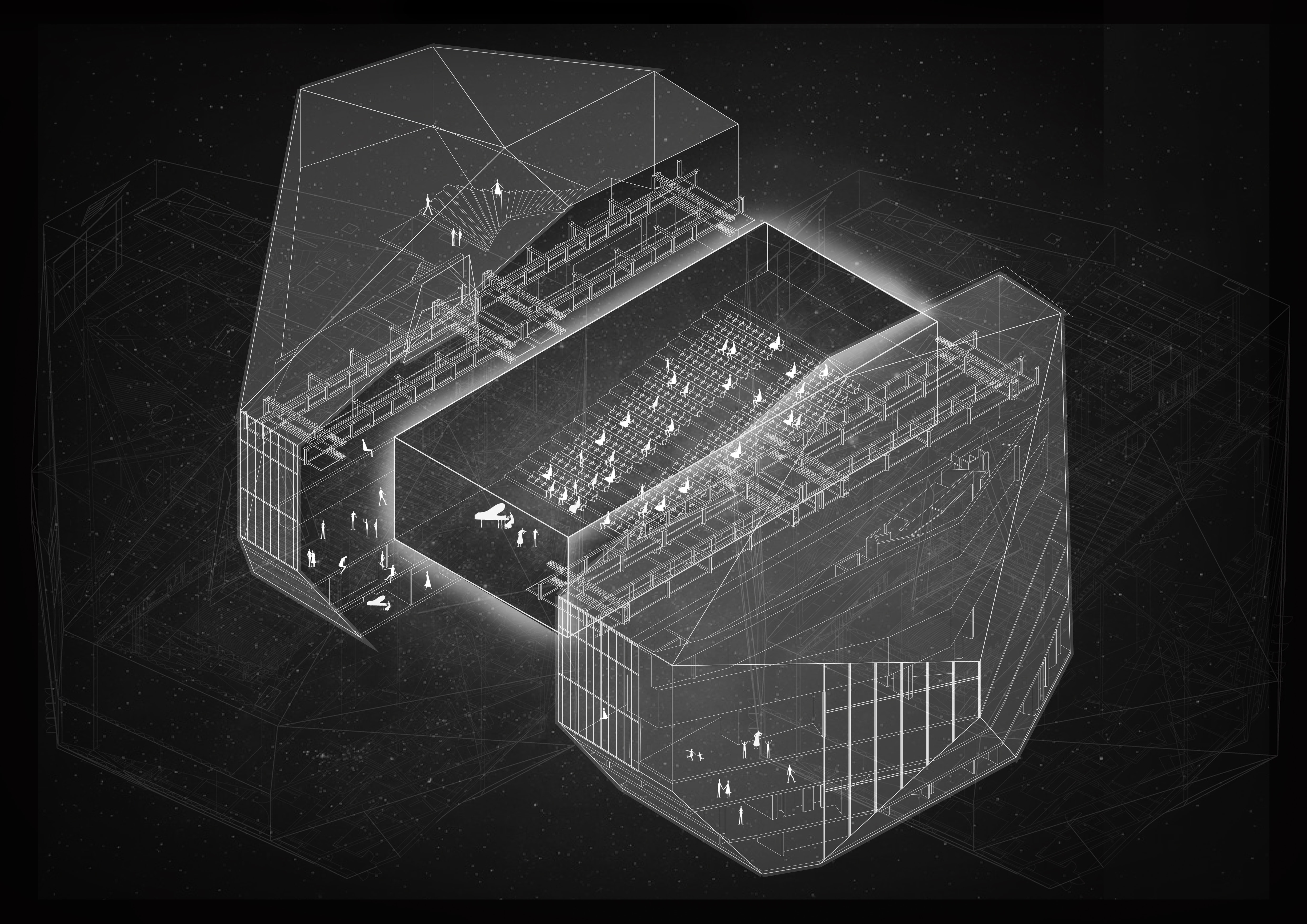 Building's soul radiography