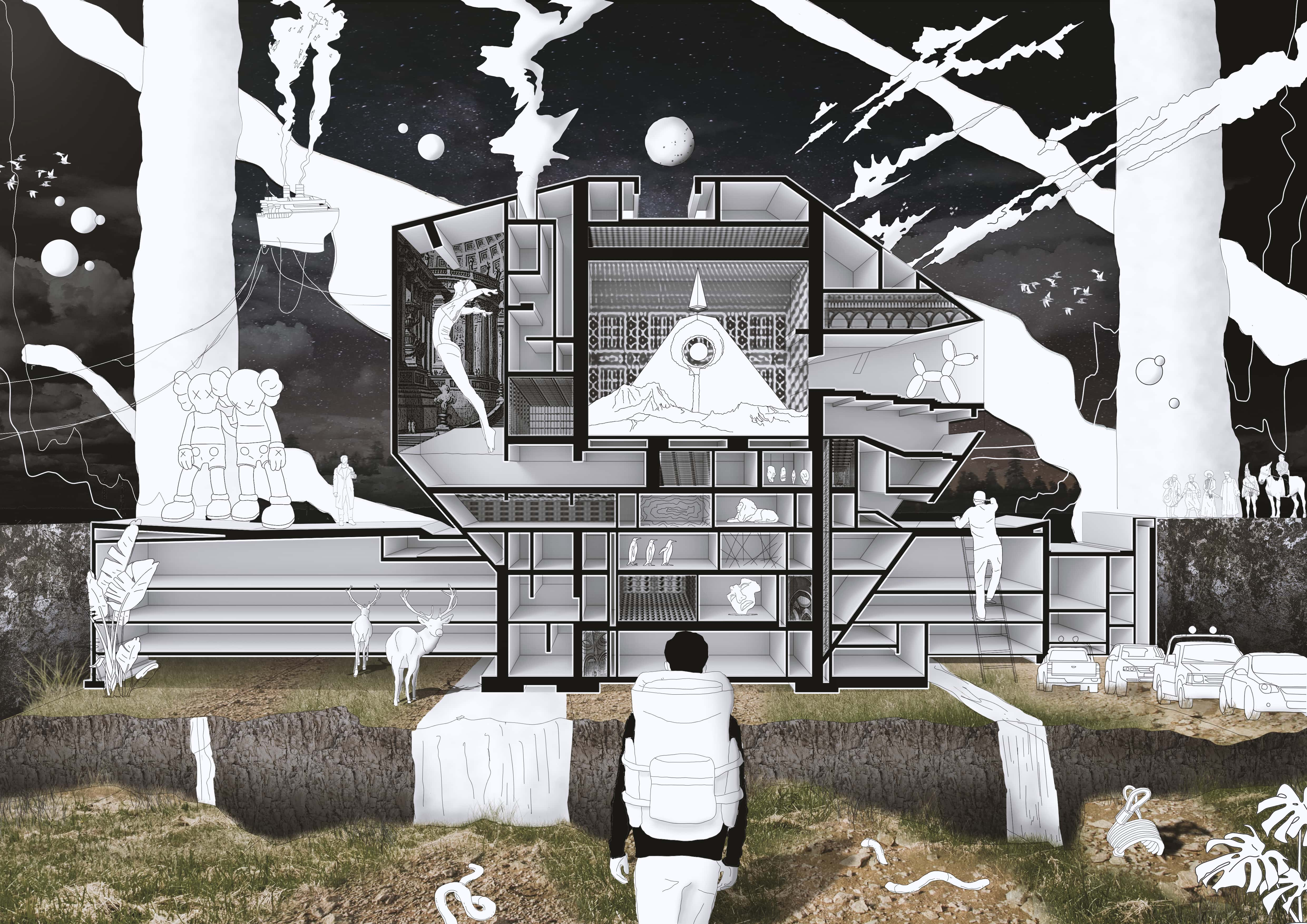 Architecture as the world container