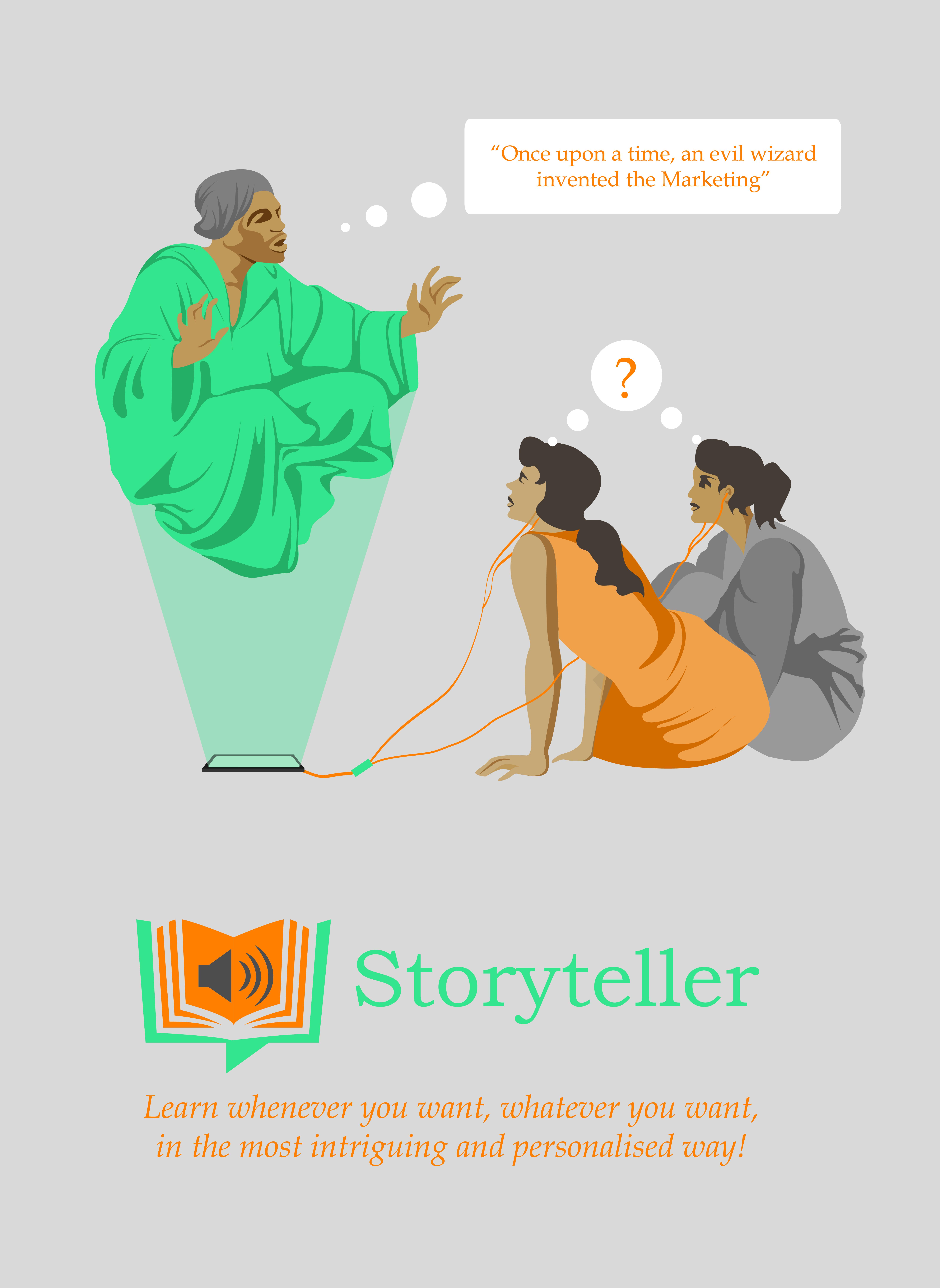 The Storyteller App