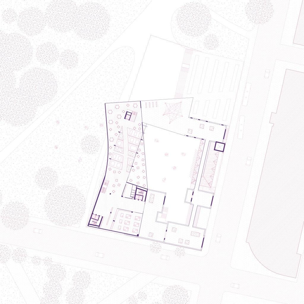 Roof Level Plan 1