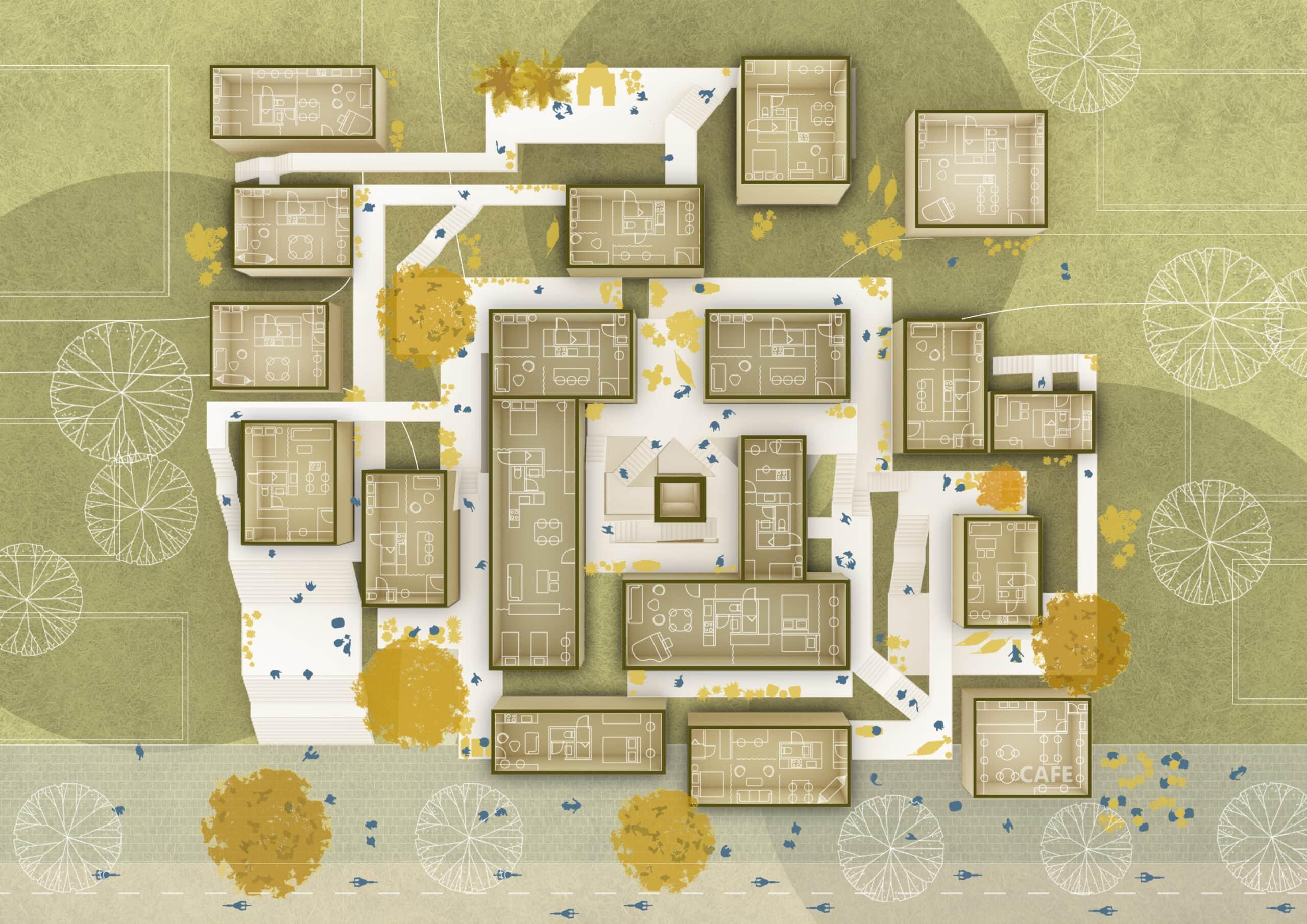 18155_Cohabitating Corridors_Concept