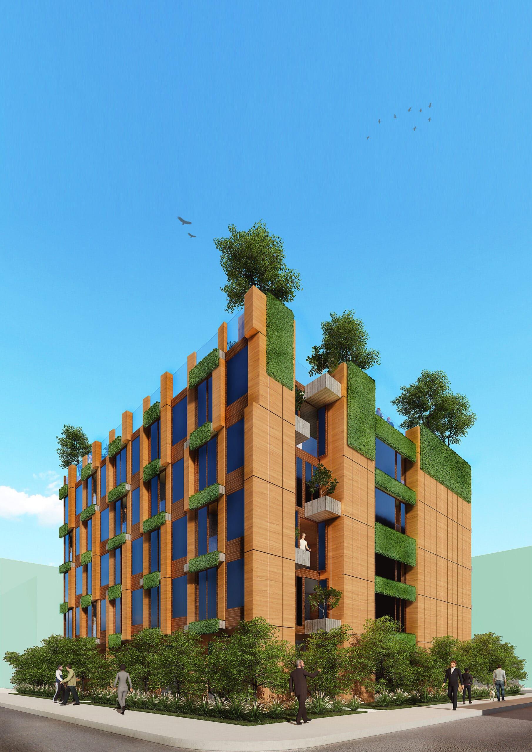 18183_NonA Social Distancing Housing Block_Block