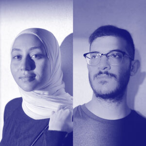 Omar Karout, Fatima Ayesh_blue