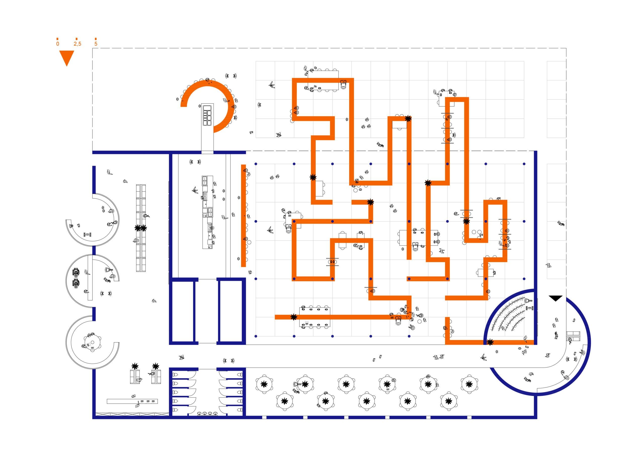 20643_Mess hall Parliament_Floorplan