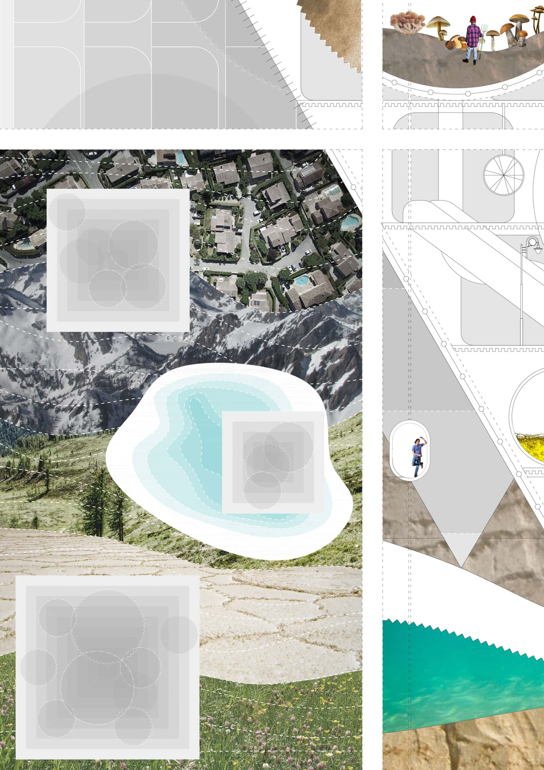 from individual community to society – context floorplan